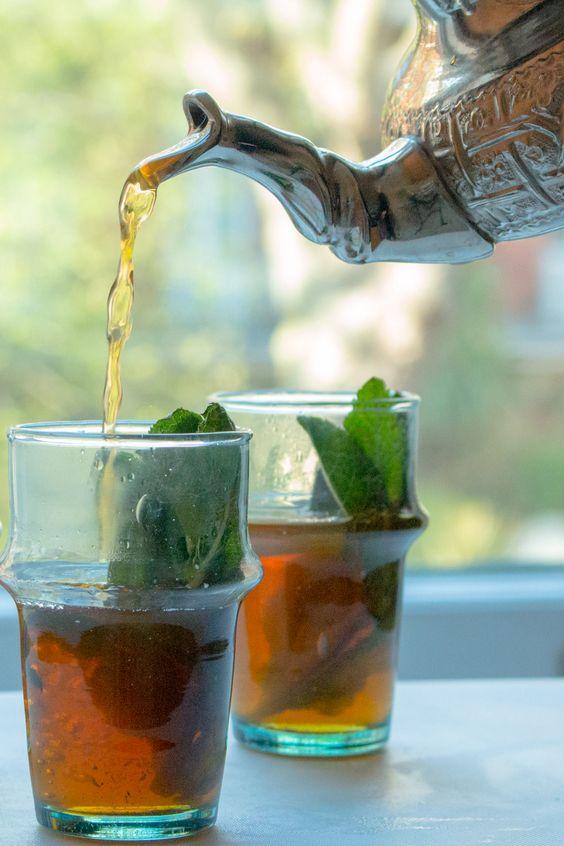 چای نعناع و دمنوش نعناع